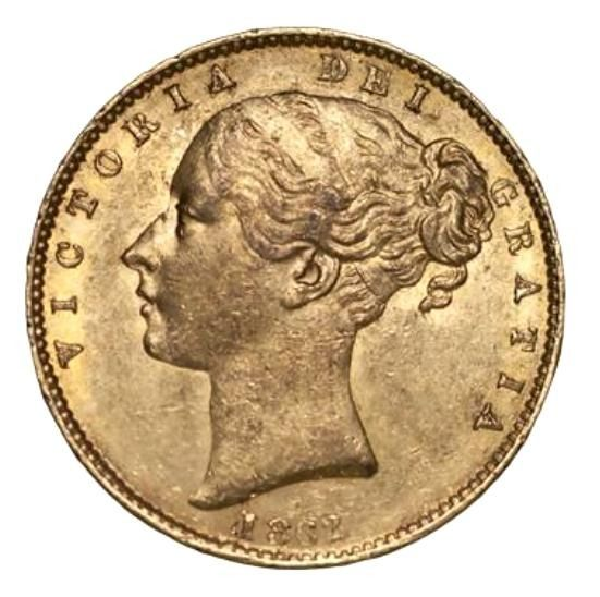 Great Britain - Sovereign 1862 Victoria - Gold