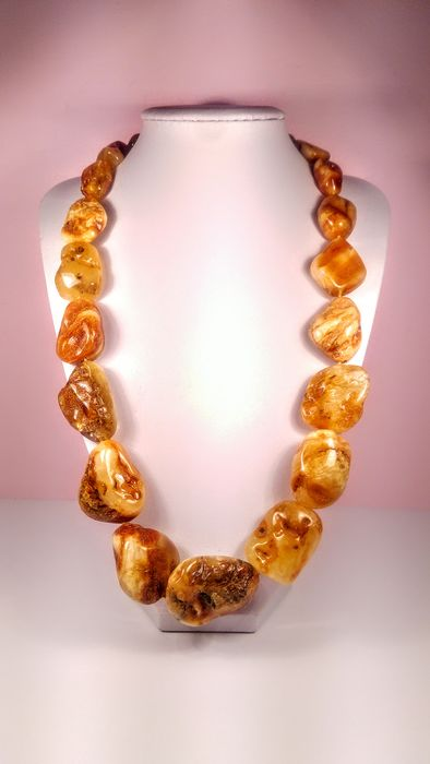 Massive Royal colour Ambre baltique - Collier