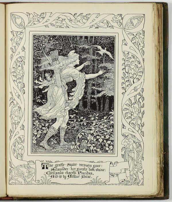 E. Spenser & Walter Crane  - Spenser's Faerie Queene. A poem in six books - 1897