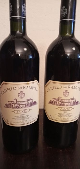 1999 Castello di Rampolla d'alceo - Toscana IGT - 2 Bouteille (0,75 l)