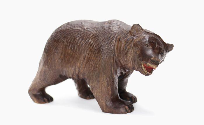 """Black Forest"" bear - Wood - about 1900"