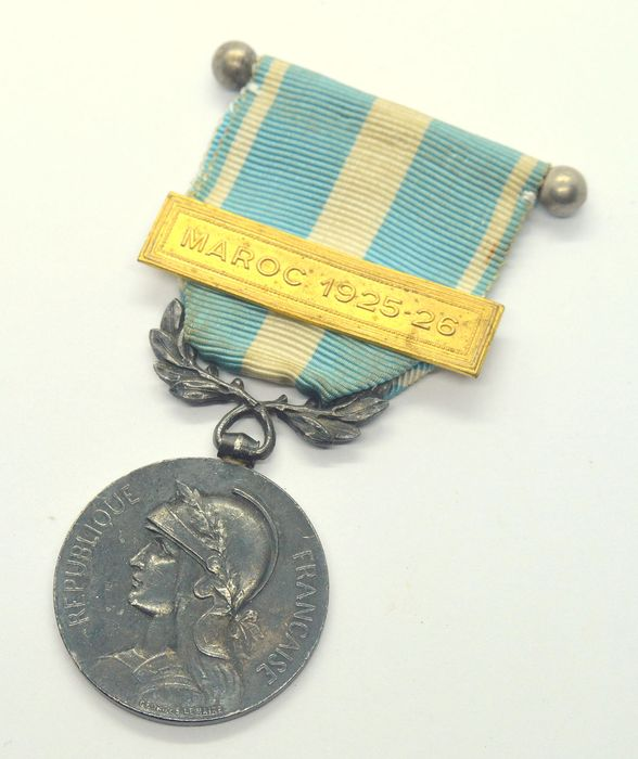 France - Medal Coloniale - Maroc 1925-26 - Medal