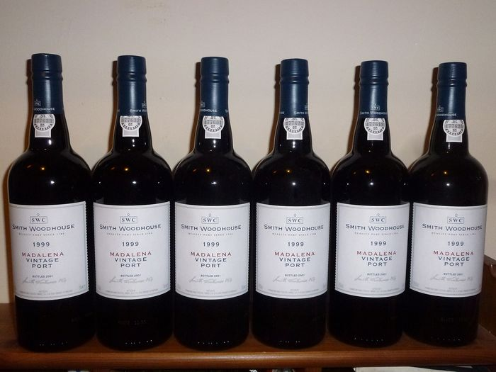 "1999 Smith Woodhouse ""Madalena"" - Douro Vintage Port - 6 Bottles (0.75L)"