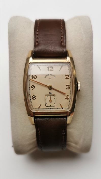 Lord Elgin - 14K Goldfilled Case - Men - Year 1950