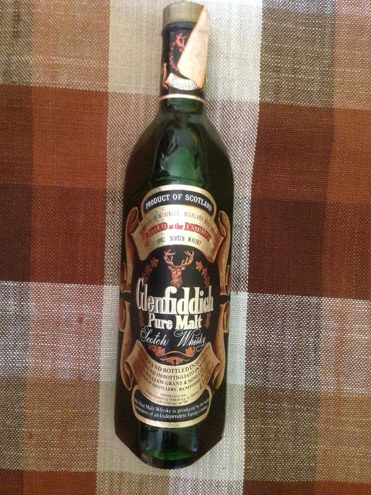 Glenfiddich Pure Malt - Original bottling - b. Jaren 1980 - 75cl