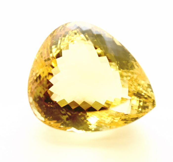 Geel Citrien - 85.54 ct