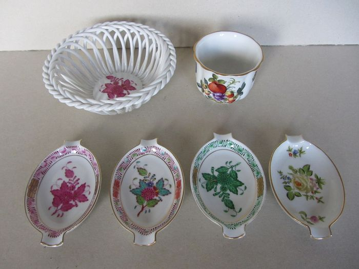 Herend - Different items (6) - porcelain
