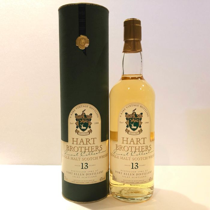 Port Ellen 1982 13 years old For Japanese Import - Hart Brothers - b. Années 1990 - 700ml