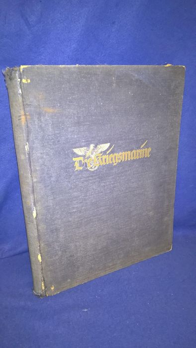 Germany - Book, The Kriegsmarine, issued with the support of the Oberkommando der Kriegsmarine. complete, - 1938