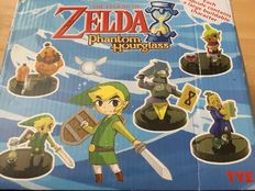 Nintendo Legend  of zelda phantom hourglass Gashapons - Brand New - Figur(en) (5)