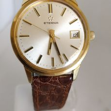 Eterna - Dress watch - mint dial - ETA 2804 - Homme - 1970-1979