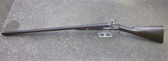 England - Westley Richards - Jachtgeweer - Double (side by side) - Centerfire - top liver - 12 ga