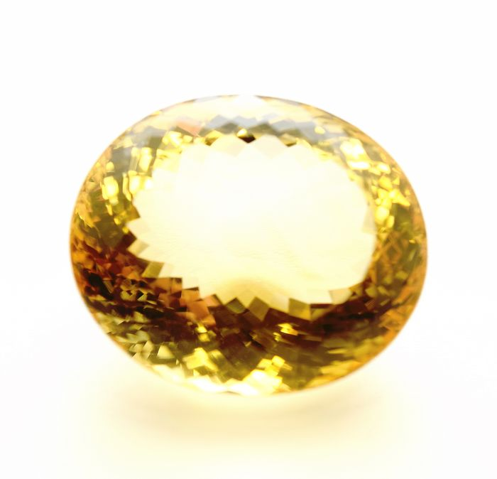 Yellow Citrine - 61.35 ct