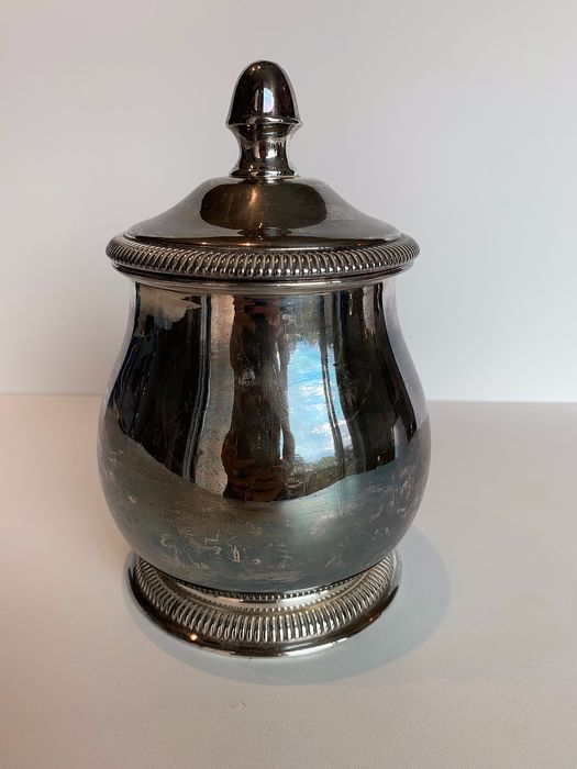 Pot (1) - silver plated