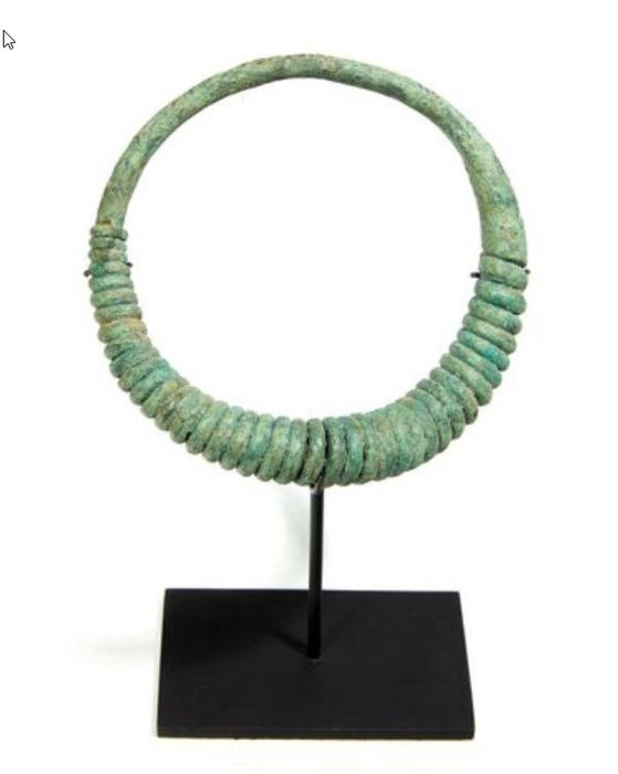 Sieraden - Brons - Torque of twisted wire - Thailand - ban chiang (ca. 300 v.Chr. - A.D. 200)