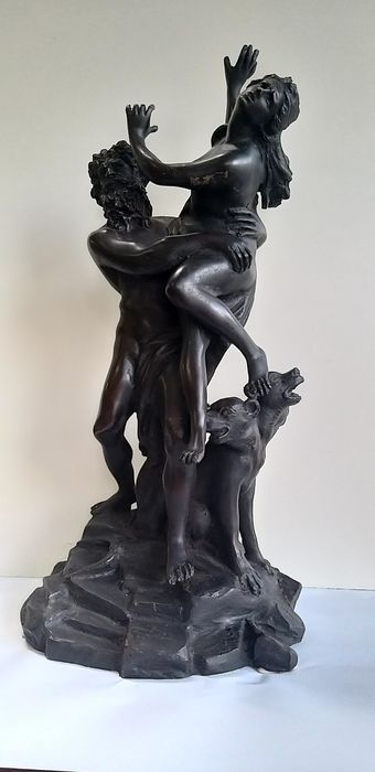 Lagana - Fonderia Napoletana - Sculpture - Bronze, Bronze (patinated) - mid 20th century