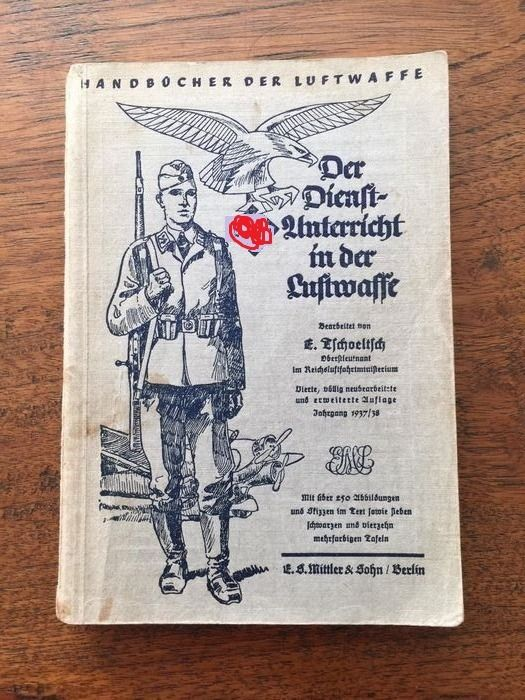 Germany - WW2 German Fallschirmjager Paratrooper Handbook - weapons - training - uniforms - Fall Gelb Luftwaffe - 1938