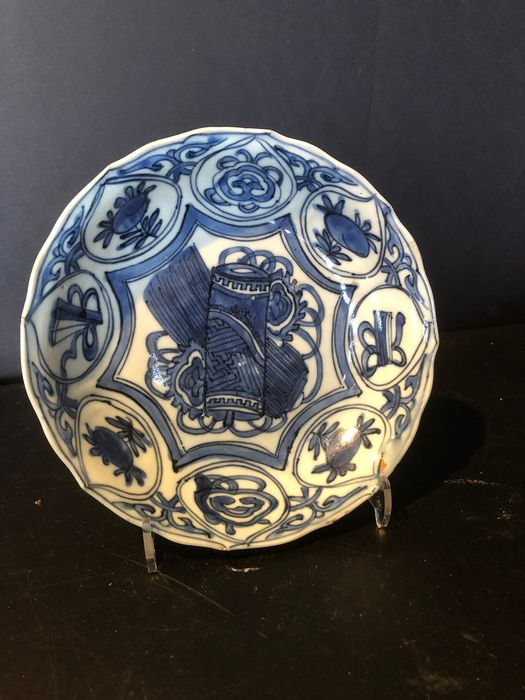 Plate - Blue and white - Porcelain - China - Wanli (1573-1619)