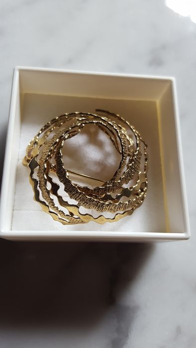 8 kt. Yellow gold - Brooch