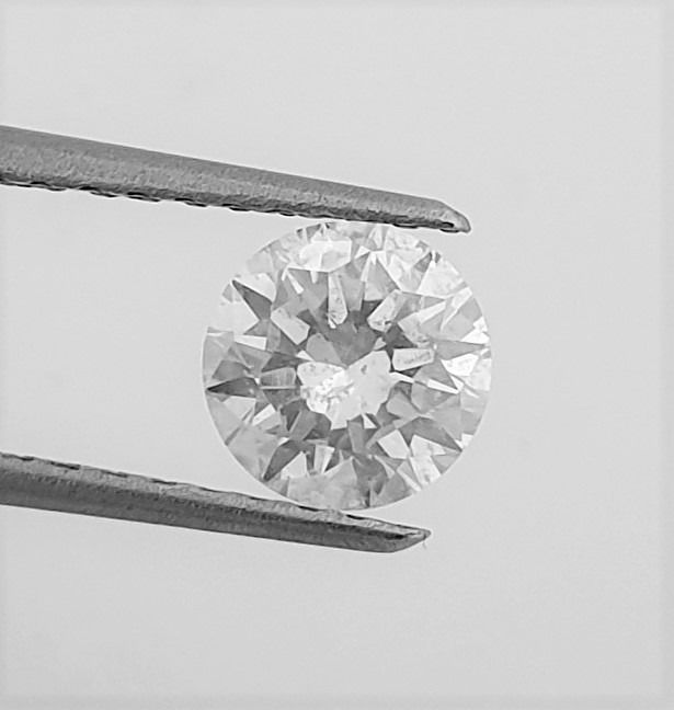 Diamond - 1.01 ct - Brilliant - G - SI2