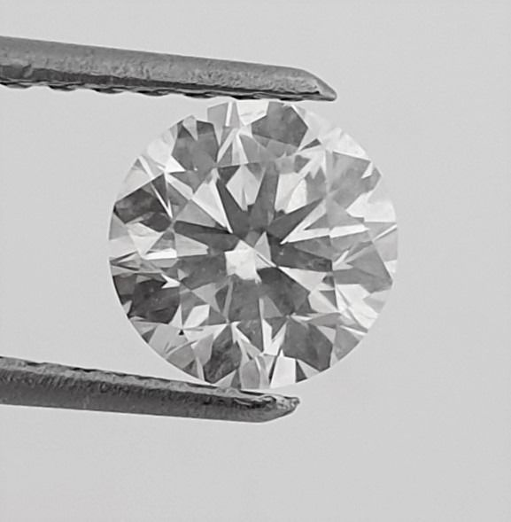 Diamante - 1.03 ct - Brillante - G - SI1
