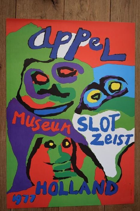 Karel Appel - Slot Zeist - 1977