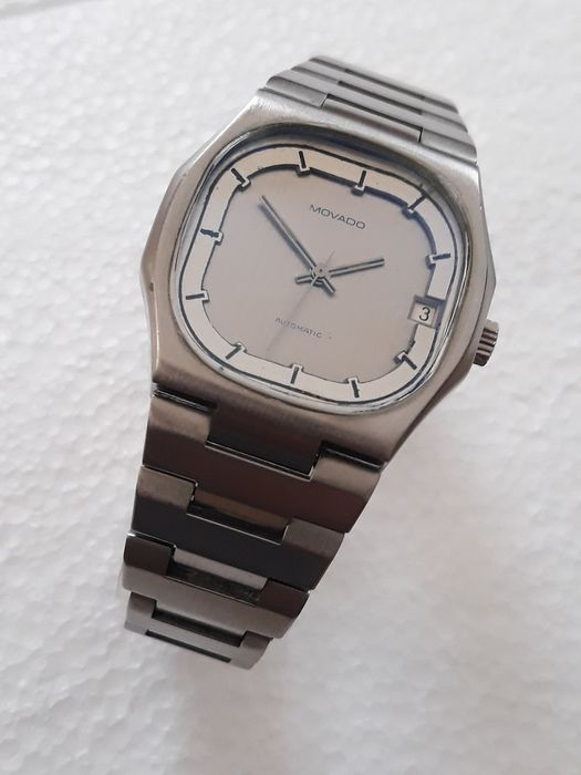 Movado - Automatic. Cal.2572 - 01 002  038 3 - Heren - 1970-1979