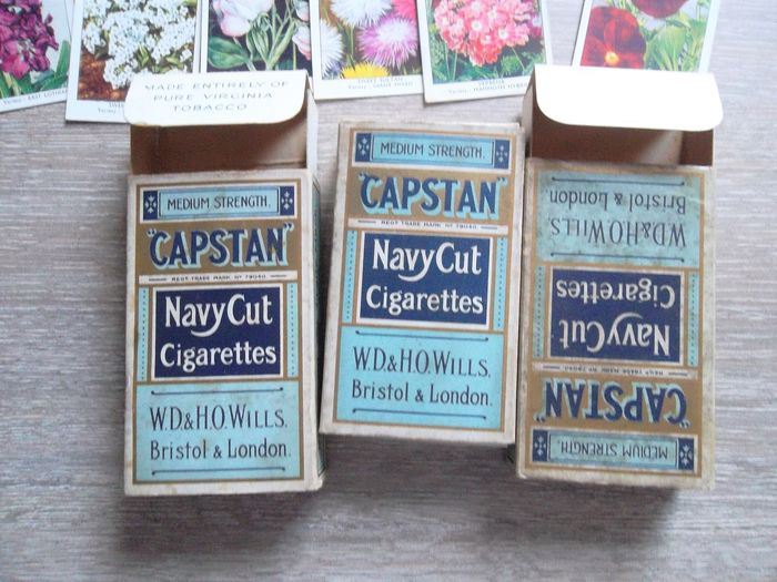 Capstan - Will's Cigarettes + Collections - Cardboard