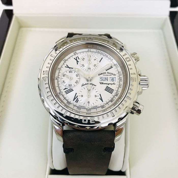 Armand Nicolet - Limited Edition Automatic Chronograph Day Date - Heren - 2011-heden