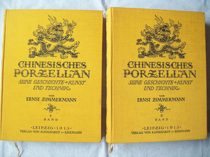 Book - Hardcover - Chinesisches Porzellan (2 volumes) - China - Ming Dynasty (1368-1644)