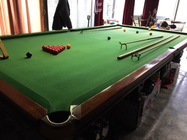 The Carlton - Table, Snooker Table and accessories