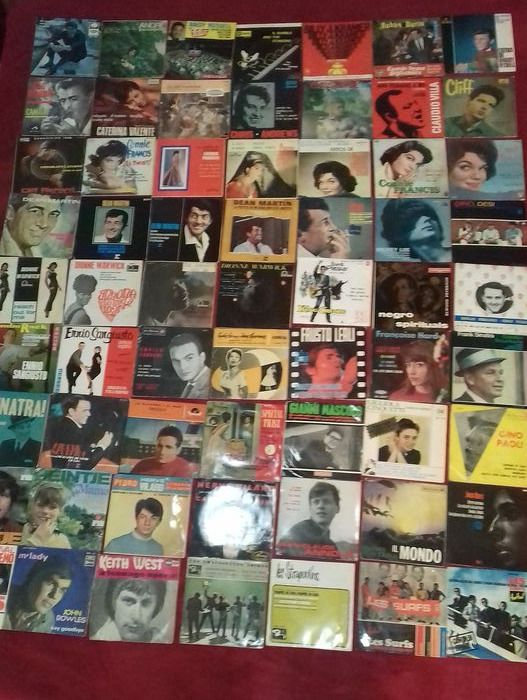 114 Top 60's Singles & EP's VG+. Own Collection - Multiple artists - Multiple titles - 45 rpm Single - 1959/1971
