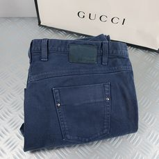 Gucci - Smooth Fit  Men's Denim Pant - Maat: IT56   Maat XXL   W 38