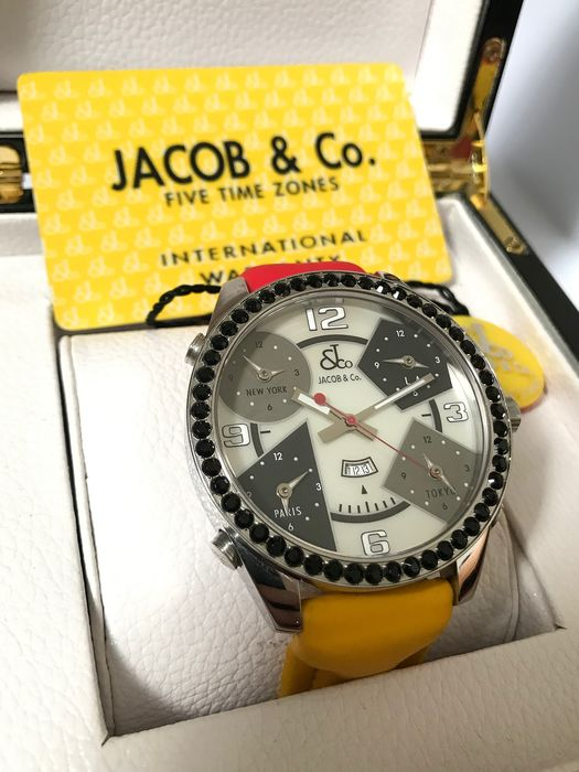 Jacob & Co. - Five Time Zone 47mm MOP with stones full kit - jc3 - Men - 2011-present