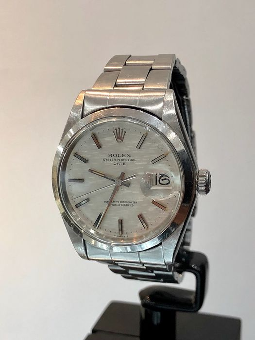 Rolex - Oyster Perpetual Date. Special Dial. - 1500 - Herre - 1970-1979