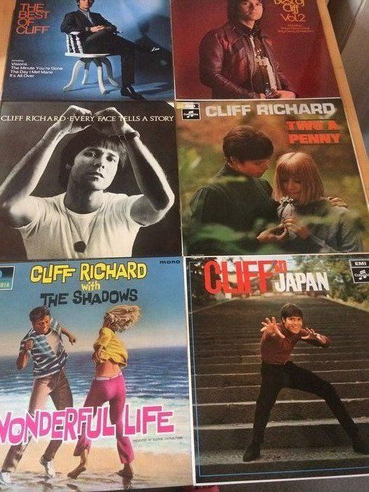 Cliff Richard - Multiple titles - LP's - 1964/1972 - Catawiki