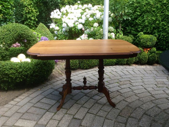 Table Biedermeier - Acajou