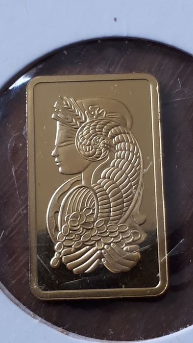 5 gramos - Oro .999 (24 quilates) - Pamp Suisse - Sello