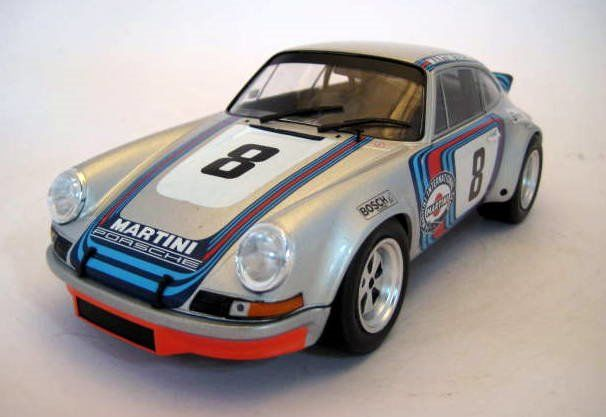 Solido - 1:18 - Porsche 911 RSR #8 Gijs Van Lennep/Herbert Müller Winners last Targa Florio 1973 - Limited Edition  - Mint Boxed - Factory Sold Out