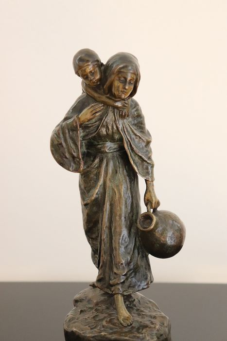 Andor Ruff - Sculpture - Bronze (patinated) - Early 20th century