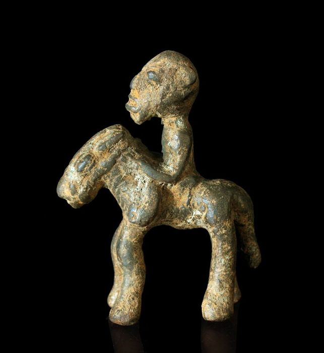 Sculpture - Bronze - Bamana - Mali