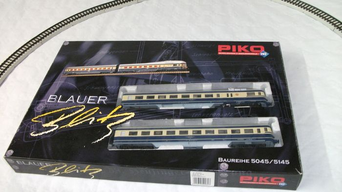 Piko H0 - 52260 - Railcar - two-piece Blue Lightning Series