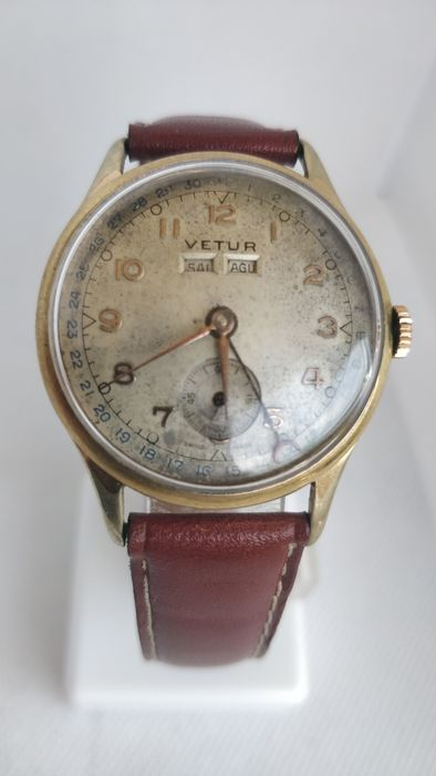 "Vetur - Triple Date Calendar - ""NO RESERVE PRICE""  - 722546 - Men - 1901-1949"