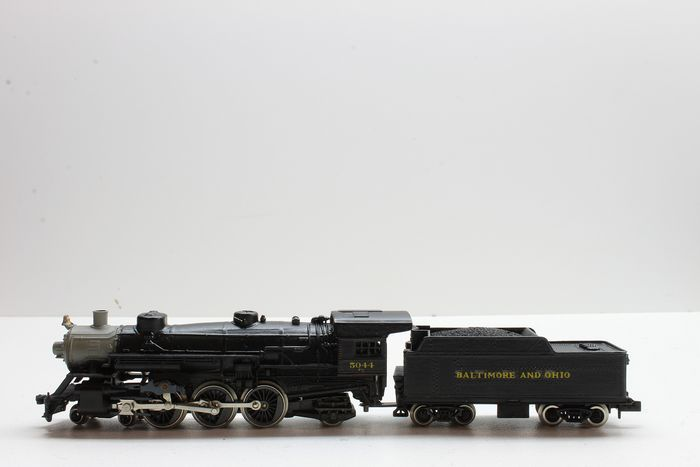 Rivarossi N - 9130 - Steam locomotive with tender - 4-6-2 - Baltimore and Ohio