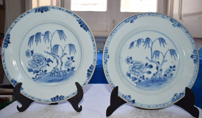 Plates (2) - Porcelain - China - Qianlong (1736-1795)