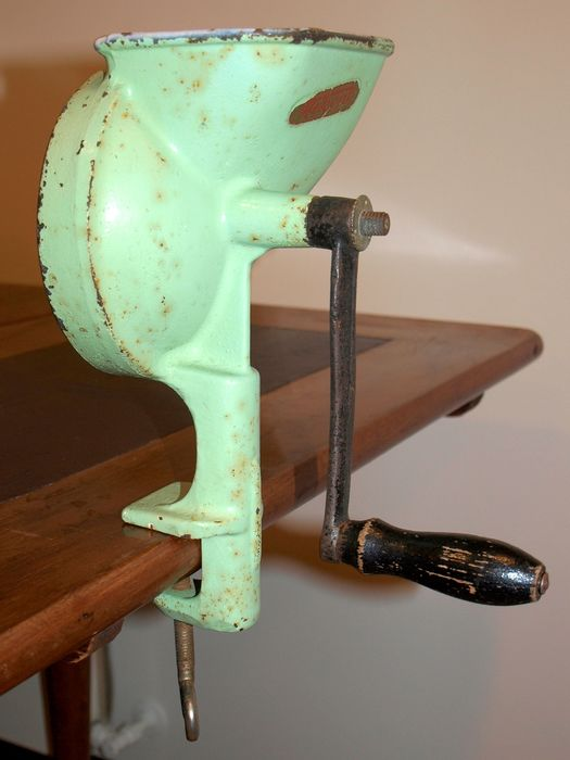 Record Vintage Vegetable Cutter Cast Iron Catawiki