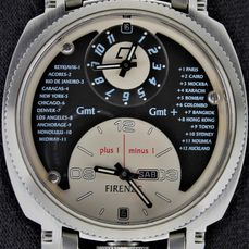 """Anonimo Firenze - Dual Time & Date - Swiss Automatic GMT - Ref. """"Opera Meccana Modello 2009"""" - Excellent Condition - Warranty  - Heren - 2011-heden"""