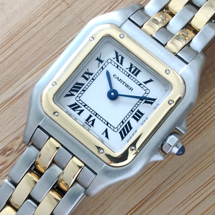 Cartier - Panthere 2 Lines Gold  - 1120 - Women - 1990-1999