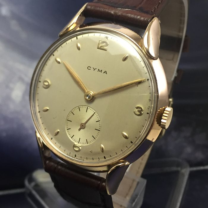 """Cyma""  - Vintage - ""NO RESERVE PRICE"" - Men - 1901-1949"