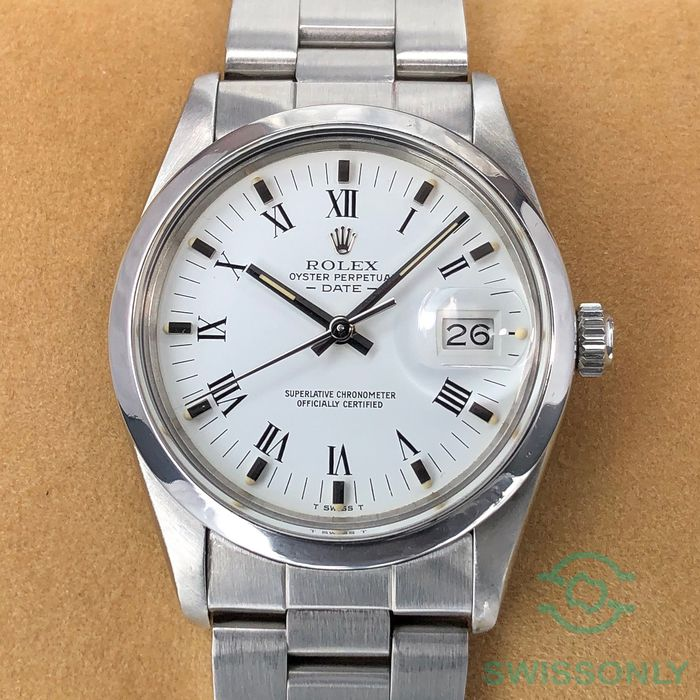 Rolex - Oyster Perpetual Date - 15000 - Unisex - 1980-1989